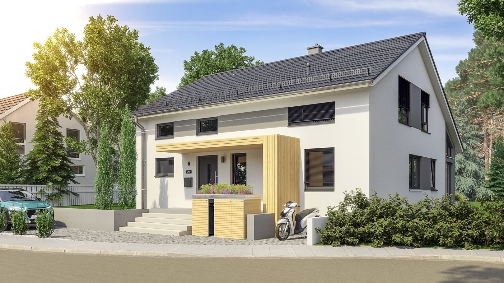 Haus-Idee-Bad Berka