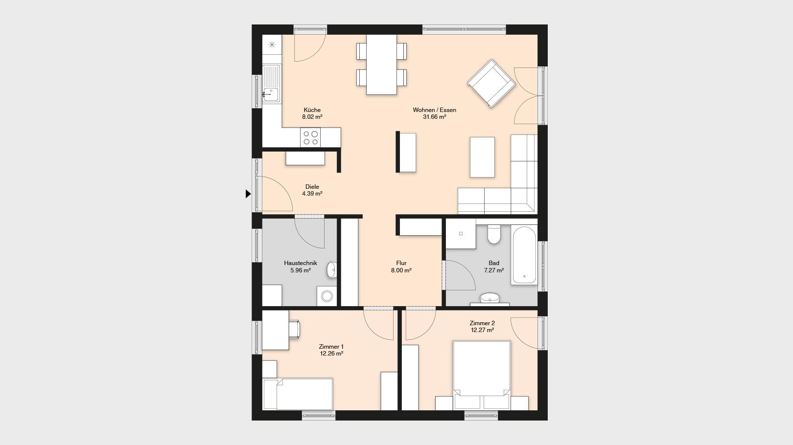 Haus-Idee Mühlhausen